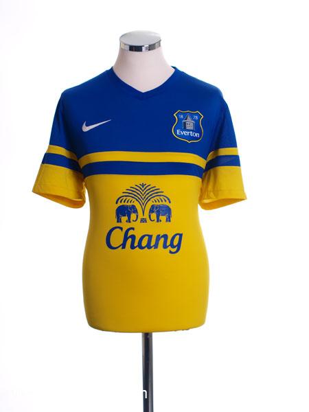 2013-14 Everton Away Shirt L