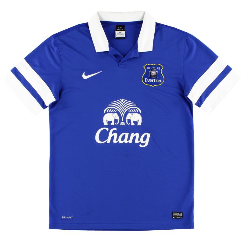 2013-14 Everton Home Shirt M