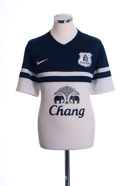 2013-14 Everton Third Shirt L