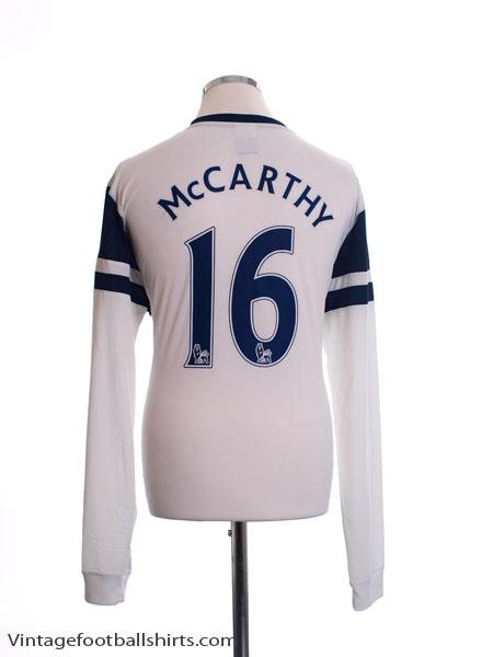 2013-14 Everton Third Shirt McCarthy #16 L/S *Mint* XL