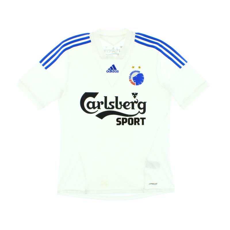 2013-14 FC Copenhagen Home Shirt M - G73926