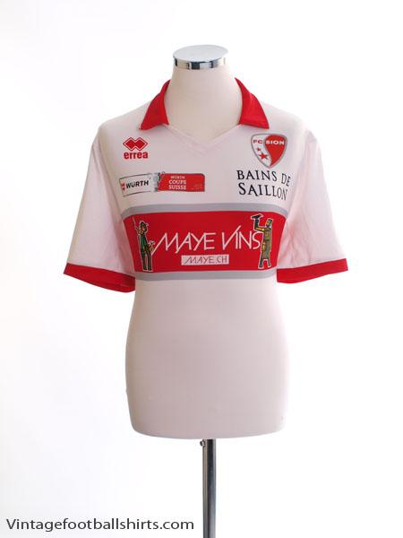 2013-14 FC Sion Home Shirt XL