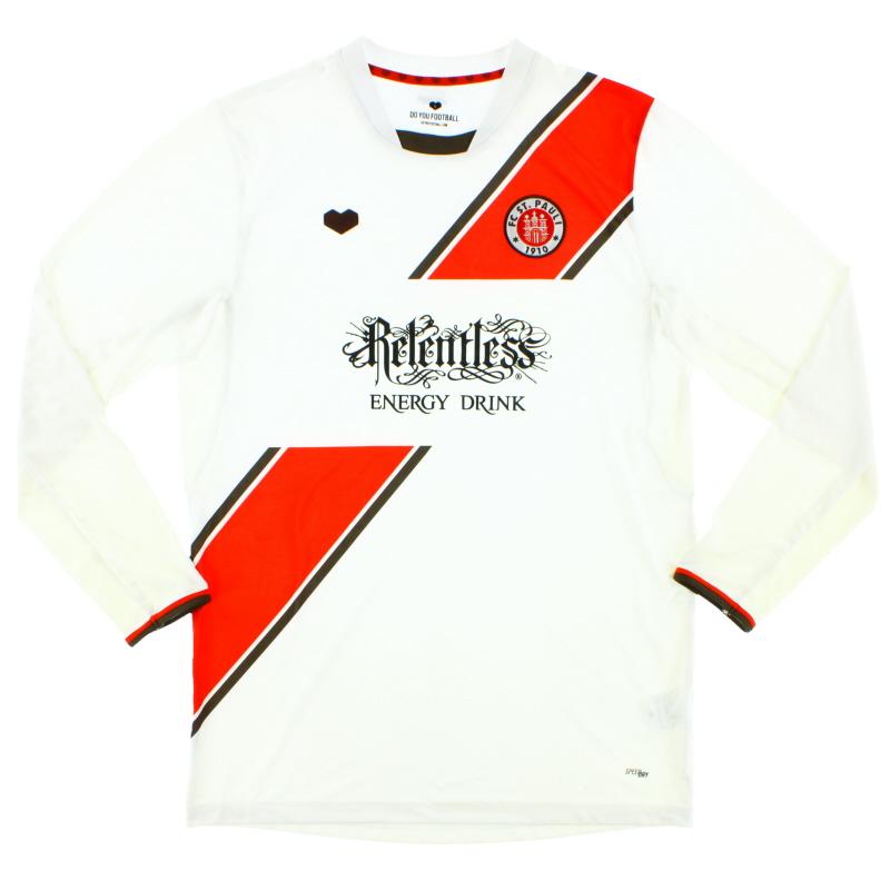 2013-14 FC St. Pauli Away Shirt L/S L - 22439
