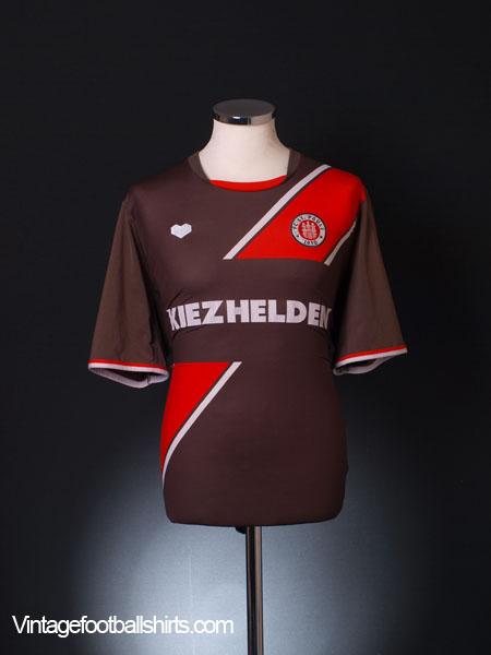2013-14 FC St. Pauli Home Shirt XL