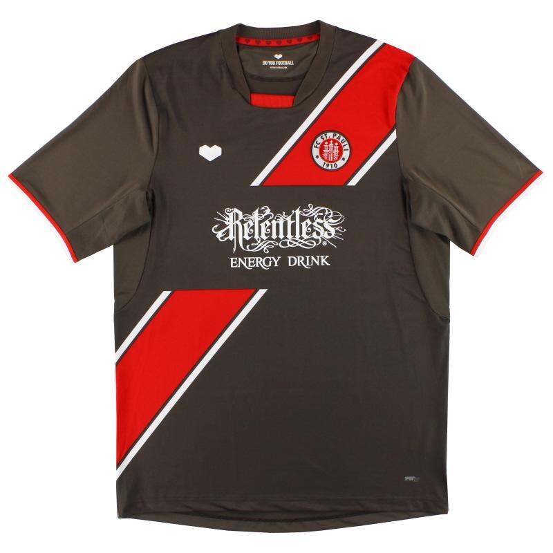 2013-14 FC St. Pauli Home Shirt *As New* XL - 22430
