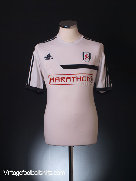 2013-14 Fulham Worn Training Shirt M