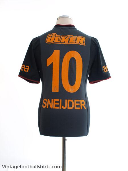 2013-14 Galatasaray Away Shirt Sneijder #10 S
