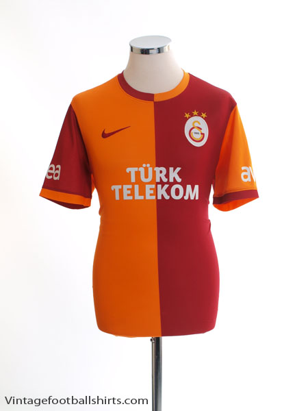 2013-14 Galatasaray Home Shirt M