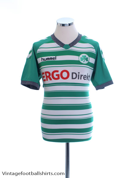 2013-14 Greuther Furth Home Shirt *Mint* S - 03-978