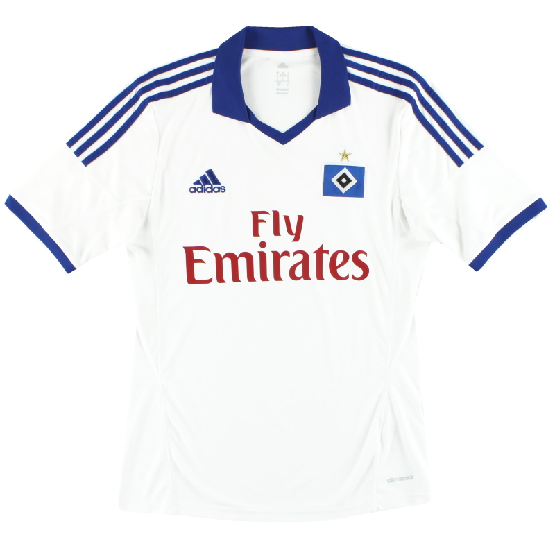 2013-14 Hamburg adidas Home Shirt S - Z27080