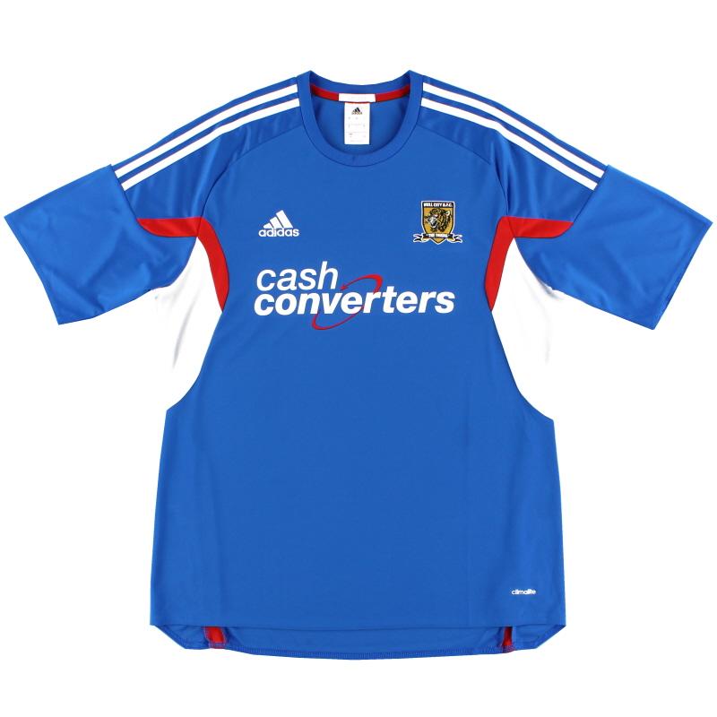 2013-14 Hull City adidas Away Shirt L