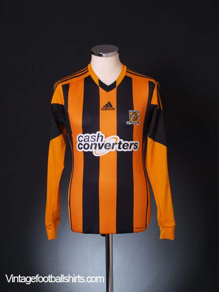 2013-14 Hull City Home Shirt L/S S