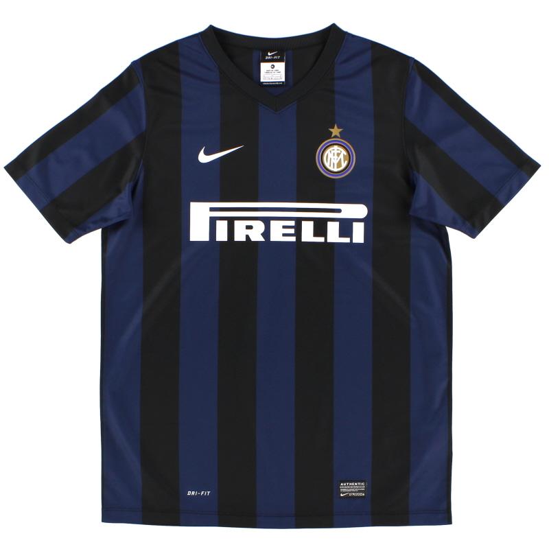 2013-14 Inter Milan Basic Home Shirt XL.Boys - 532886-411