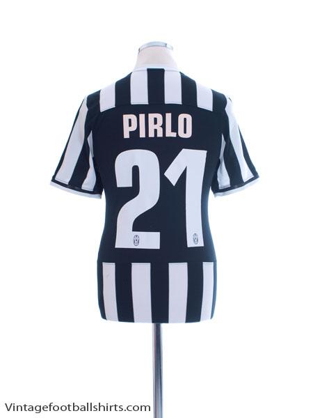 2013-14 Juventus Home Shirt Pirlo #21 S - 533056-107