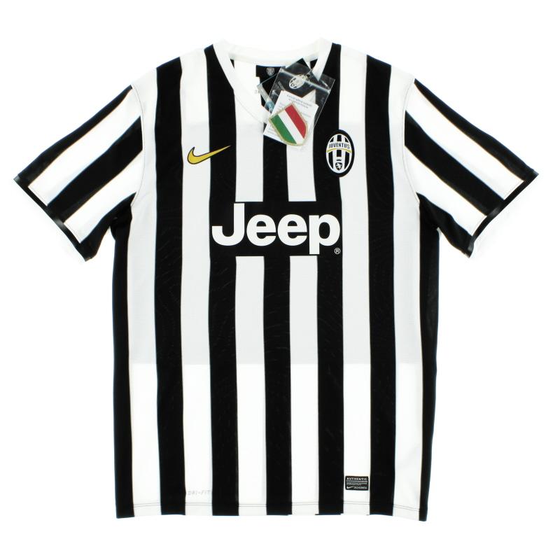 2013-14 Juventus Home Shirt *w/tags* XL - 533056-107