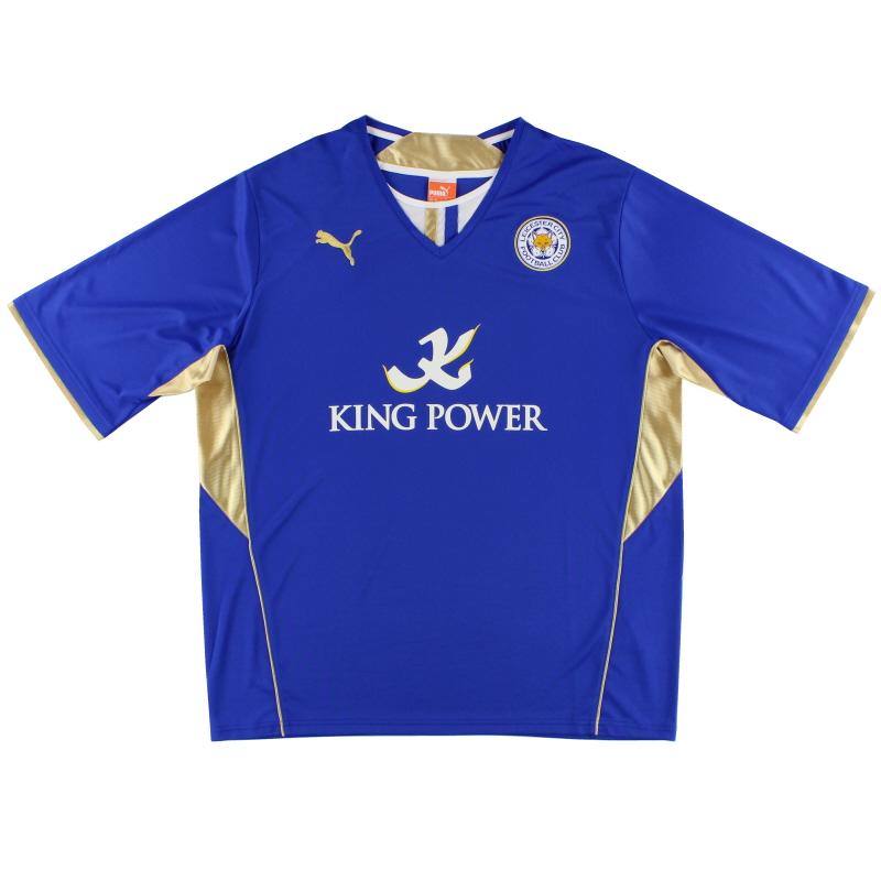 2013-14 Leicester Puma Home Shirt *Mint* XXL