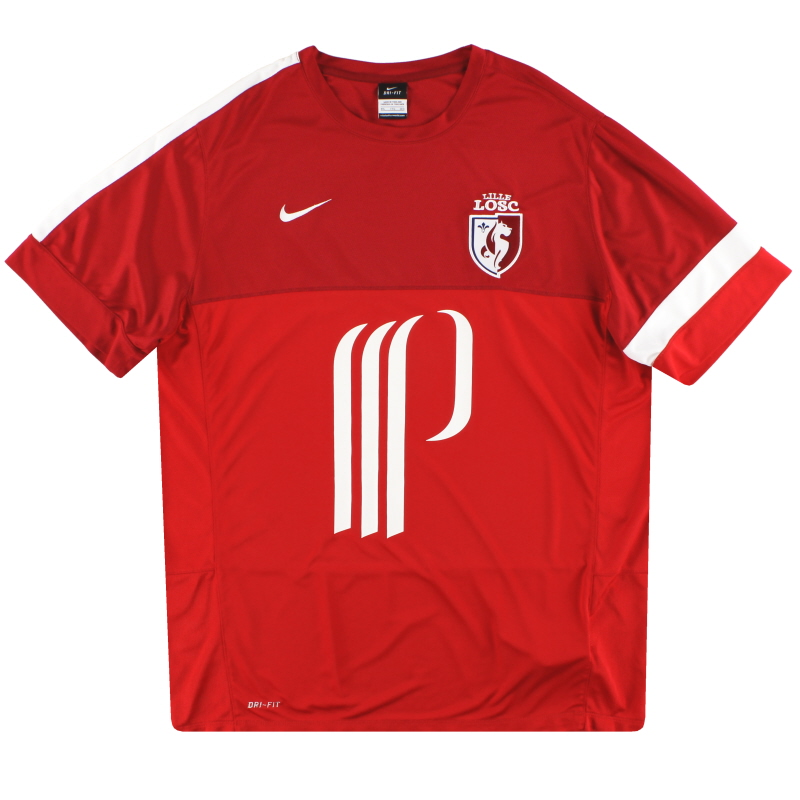 2013-14 Lille Nike Training Shirt *Mint* XXL - 519059-657