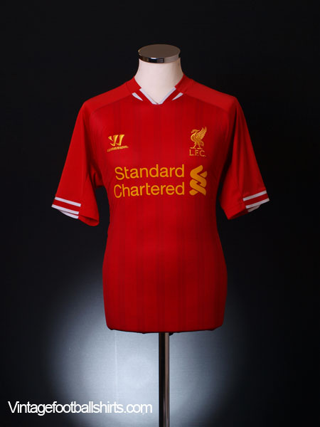 2013-14 Liverpool Home Shirt S