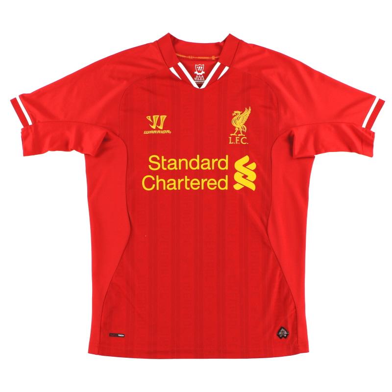 2013-14 Liverpool Home Shirt *Mint* L - WIN738