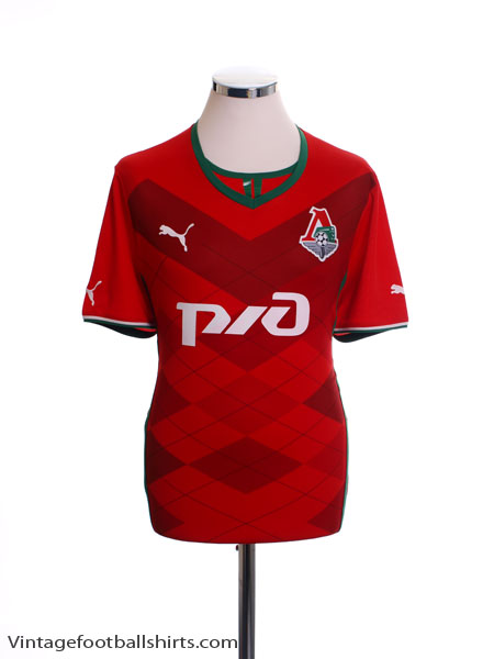 2013-14 Lokomotiv Moscow Home Shirt *Mint* L