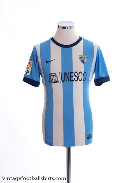 2013-14 Malaga Home Shirt XL.Boys