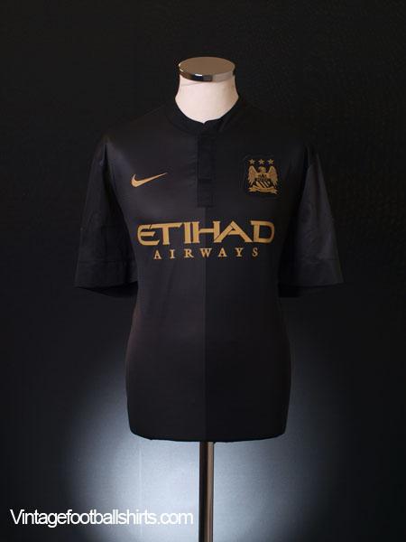 2013-14 Manchester City Away Shirt S