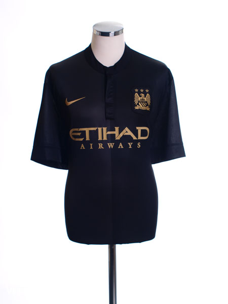 2013-14 Manchester City Away Shirt XL