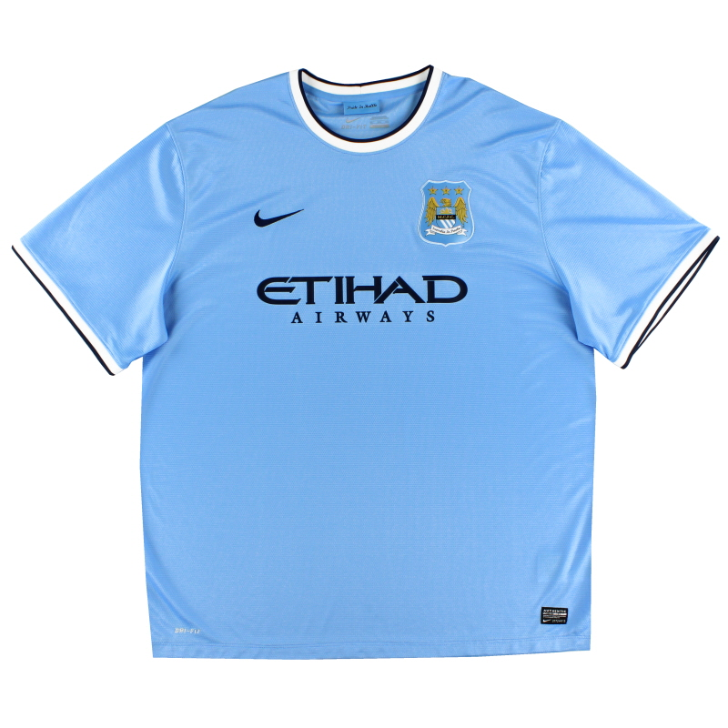 2013-14 Manchester City Home Shirt XXXL - 574863-489