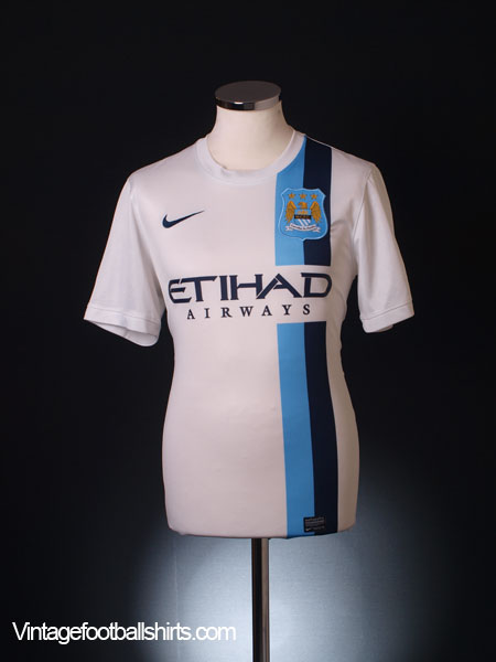 2013-14 Manchester City Third Shirt XL.Boys