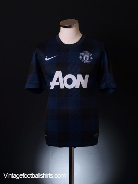 2013-14 Manchester United Away Shirt L.Boys