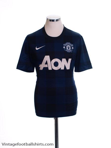2013-14 Manchester United Away Shirt XL
