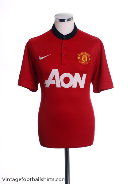 2013-14 Manchester United Home Shirt *BNWT* L
