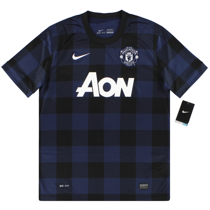 2013-14 Manchester United Nike Away Shirt *w/tags* M - 532838-411