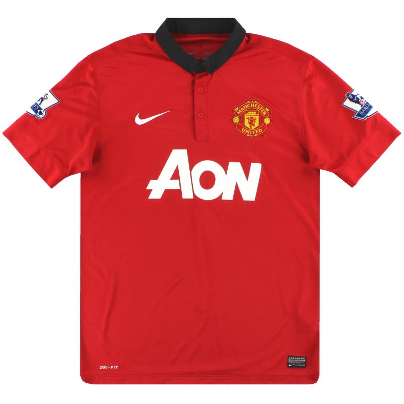 2013-14 Manchester United Nike Home Shirt M - 532837-624