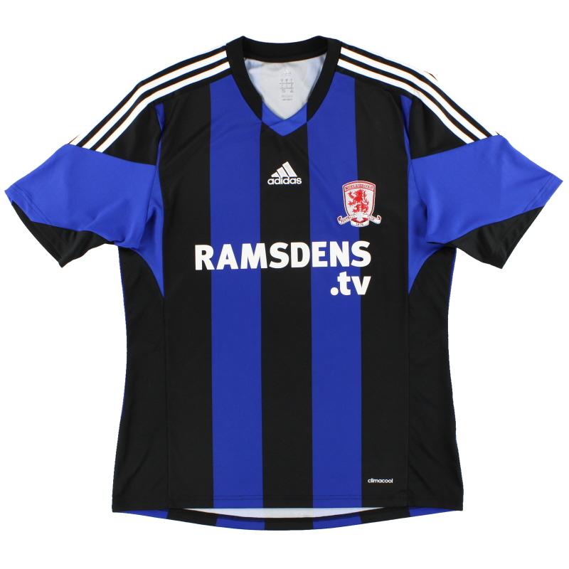 2013-14 Middlesbrough adidas Away Shirt L