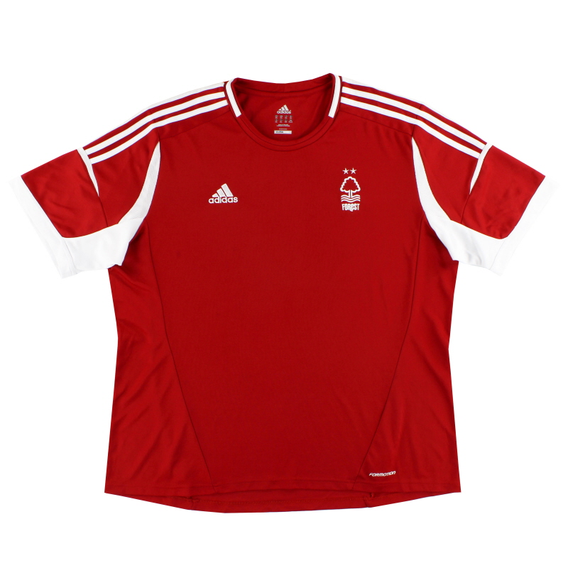 2013-14 Nottingham Forest Formotion Home Shirt XXL