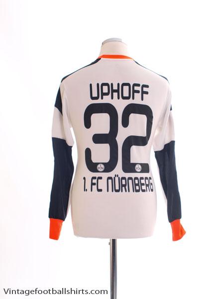 2013-14 Nurnberg Player Issue Goalkeeper Shirt Uphoff #32 L