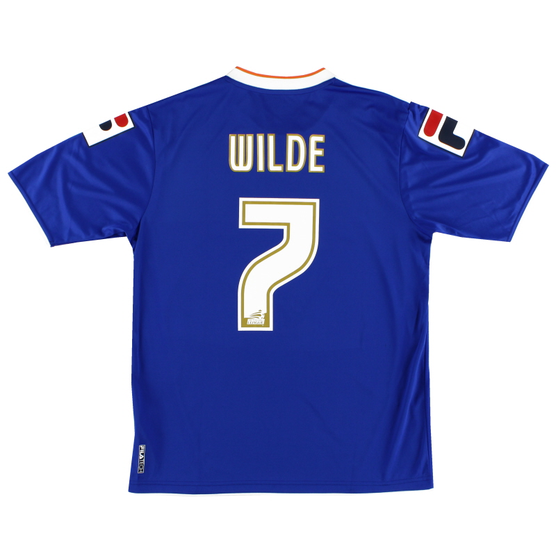 2013-14 Oldham Home Shirt Wilde #7 M