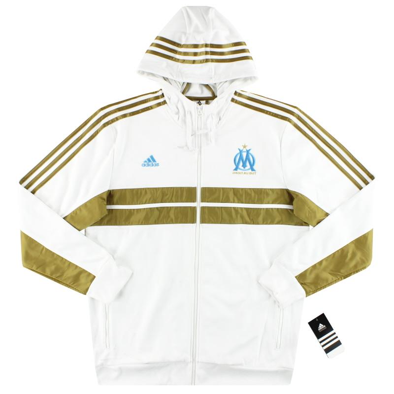 2013-14 Olympique Marseille adidas Anthem Jacket *BNIB* - G739292