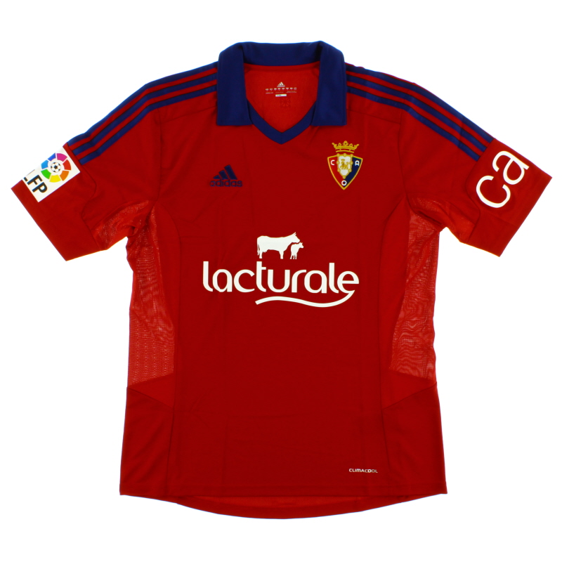 2013-14 Osasuna Home Shirt *BNIB* - D02089
