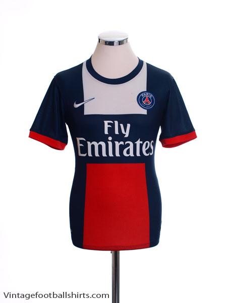 2013-14 Paris Saint-Germain Home Shirt S - 544424-412