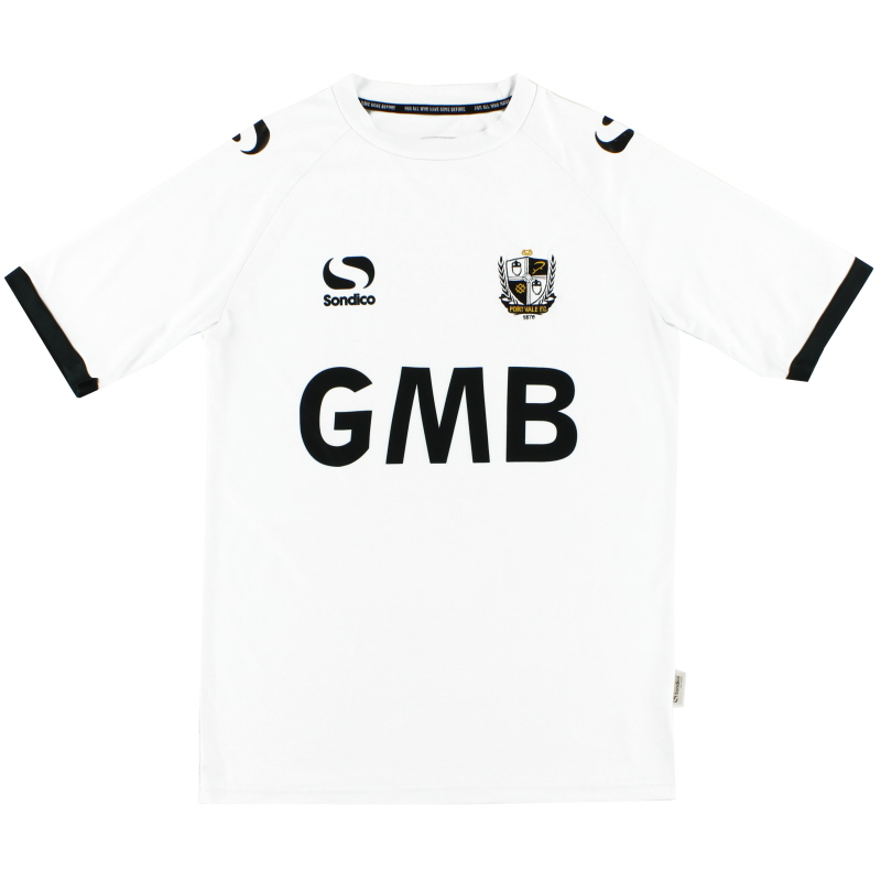 2013-14 Port Vale Sondico Home Shirt M