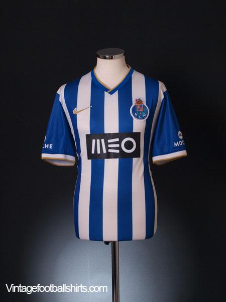 2013-14 Porto Home Shirt *Mint* L