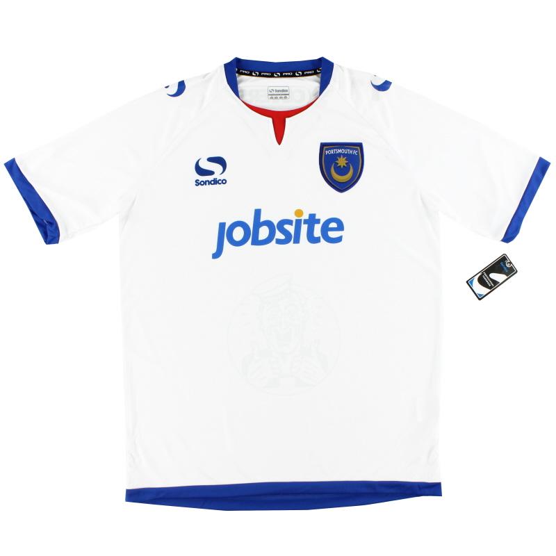 2013-14  Portsmouth Away Shirt *BNWT* L