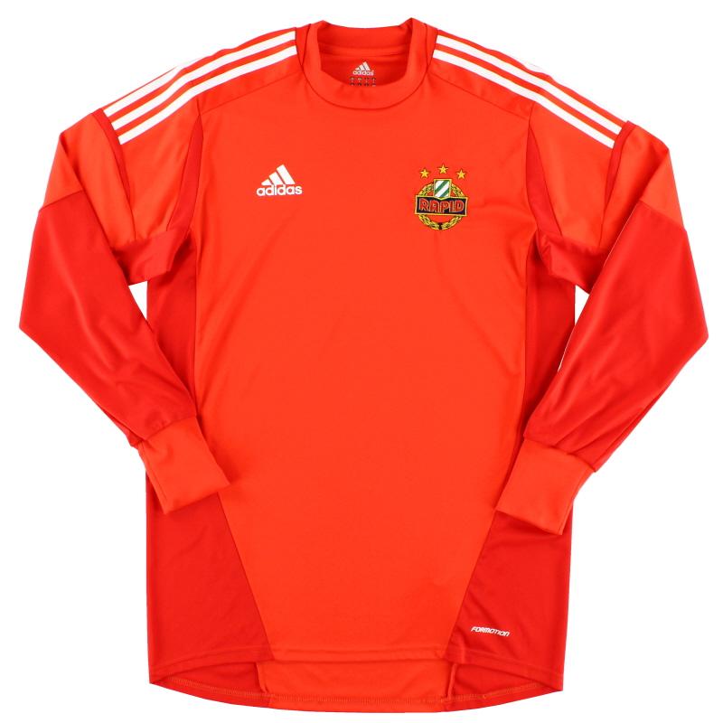 2013-14 Rapid Vienna 'Formotion' Goalkeeper Shirt *Mint* L - W40018
