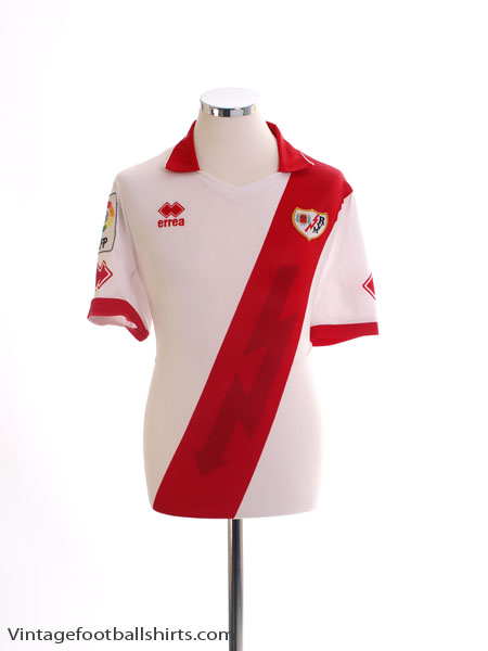 2013-14 Rayo Vallecano Home Shirt *As New* L