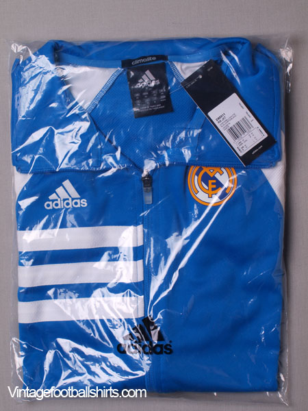 2013 14 real madrid adidas zip training jacket bnib for sale. Black Bedroom Furniture Sets. Home Design Ideas