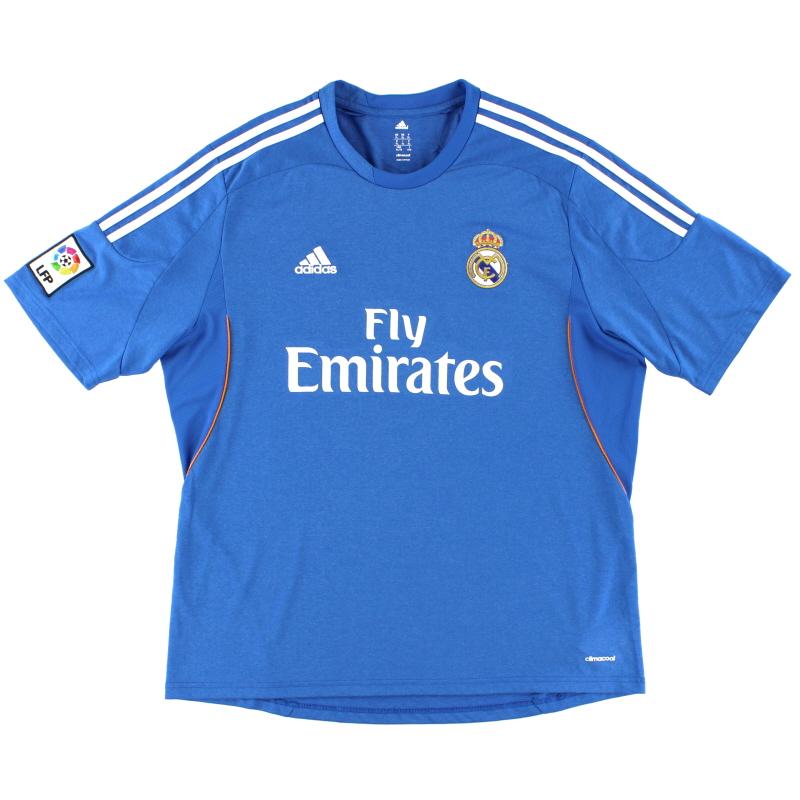 2013-14 Real Madrid Away Shirt *Mint* XL - Z29405