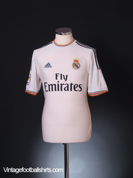 2013-14 Real Madrid Home Shirt S