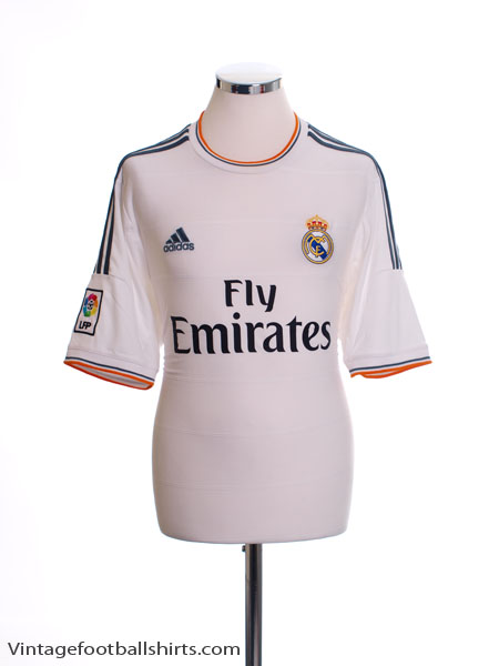 2013-14 Real Madrid Home Shirt M - Z29356